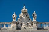 Detalle del Palacio Real, Madrid, España