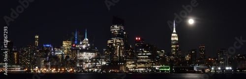 NYC Skyline at Night - 121167293
