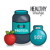 icons healthy lifestyle design vector illustration eps 10