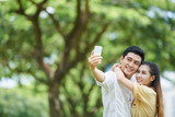 Selfie with girlfriend