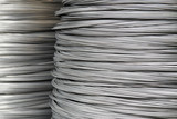 Large coil of Aluminum wire - 121195832