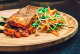 Salmon and salat