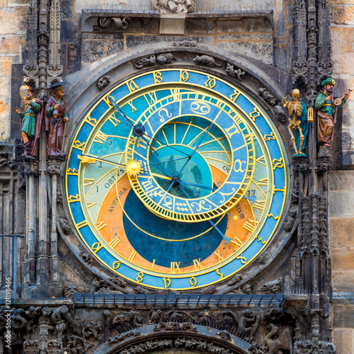 Poster Prague Astronomical Clock (Orloj)  in Prague