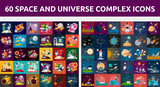 Bundle Space and Universe Complex Icon