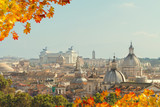 skyline of Rome, Italy