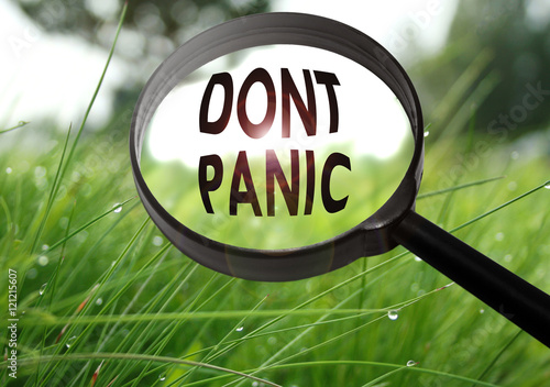 Poster dont panic