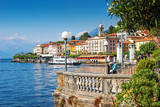 Scenic Como lake and Bellagio town in summer, Italy. - 121223620