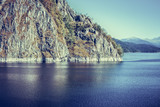 Landscape with Vidraru lake, Romania
