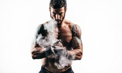 Fitness man © likoper