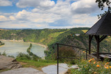 Upper Middle Rhine Valley with view to the Loreley