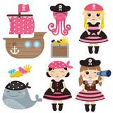 cute pirate objects