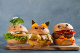 Gourmet  tasty pokemon burgers