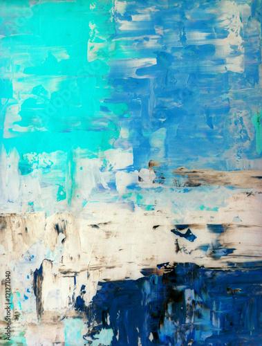 turkusowy-i-bezowy-malarstwo-abstrakcyjne