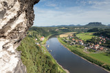 Bastei - Saxon - Germany - Valley of the river Elbe