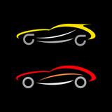 Sports Car Logo