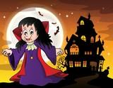 Vampire girl theme image 6