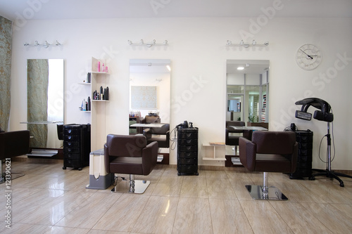 Interior Of A Modern Beauty Salon Buy Photos Ap Images Detailview