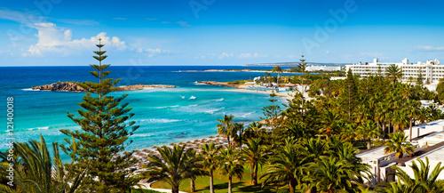 Foto op Plexiglas Cyprus Mediterranean sea view on Cyprus