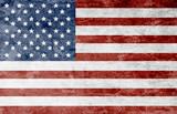 Grunge American flag - 121453266