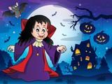 Vampire girl theme image 7