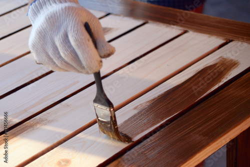 Painting wooden worktops - 121456666