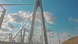 Yavuz Sultan Selim Bridge in Istanbul Turkey
