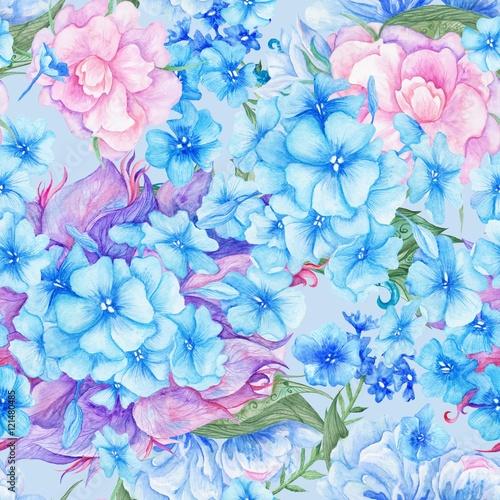 Obraz Shabby Chic Vintage Romantic Floral Pattern