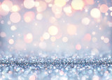Glittering Effect For Luxury Christmas - Shining Background - 121486055