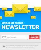 Subscribe To Our Newsletter - Email  Submit Form
