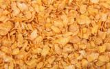 Corn flakes full background