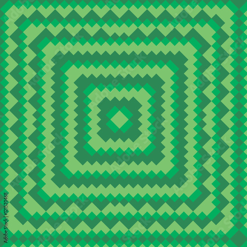 green vector pattern. Vector illustration. Abstract geometric pattern. Seamless pattern for fabric, paper and other printing and web projects.