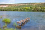 wooden pier for fishermen