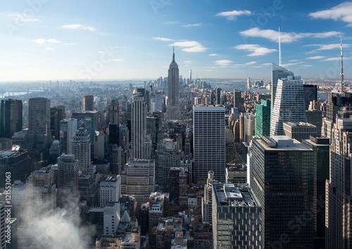 Poster Skyline of Manhattan, New York, USA