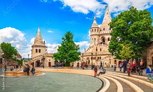 Papiers peints Budapest Budapest Fishermans Bastion square famous touristic landmark