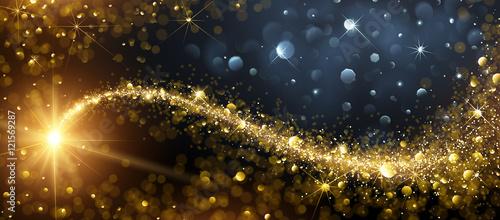 Boże Narodzenie tło z Gold Star