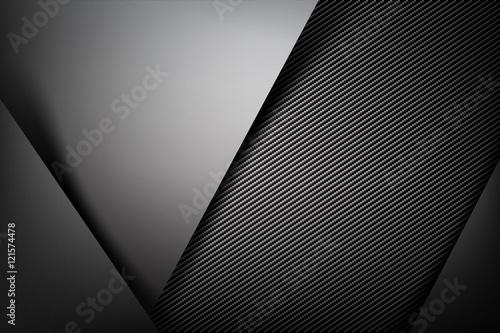 Abstrakcjonistyczny tło zmrok z węgla włókna tekstury wektoru ilustrem