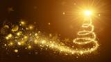 Christmas Tree Gold