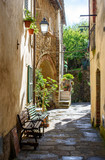 alley of the italian village, Scansano, tuscany