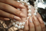 Beautiful nails, manicure, nail art, hand