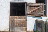 Stalltüre aus Holz - 121651043