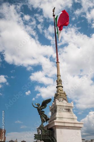 Poster Il Tricolore all'Altare della Patria