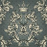 Seamless vintage baroque pattern