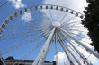 The ferris wheel in Atlanta, GA
