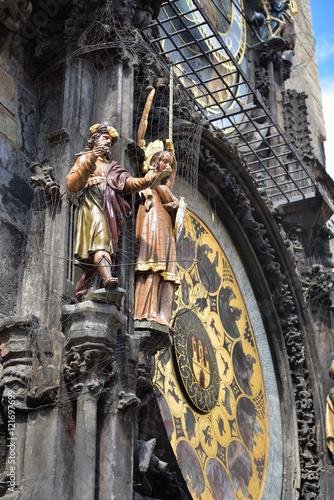 Poster Prager Rathausuhr - Astronomische Uhr