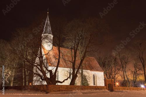Church at Nõo Poster