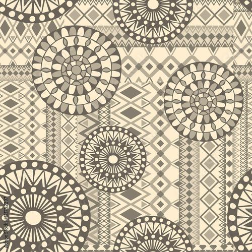 traditional seamless pattern,  ornament , Vintage art traditional, Islam, arabic, indian, ottoman motifs, Boho strip, tribal texture