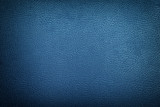 Fototapety Blue leather texture background