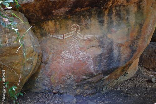 Poster Dessin du sorcier, Australie