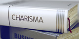 Book Title of Charisma. 3D. - 121810802