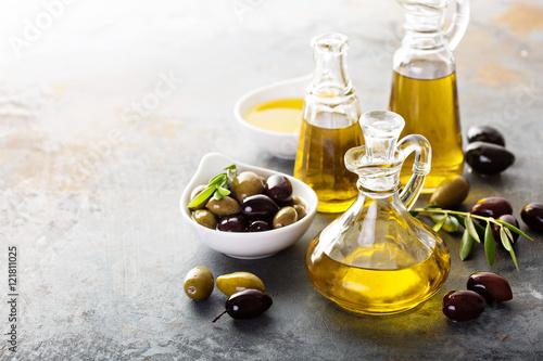 Черные точки оливковое масло